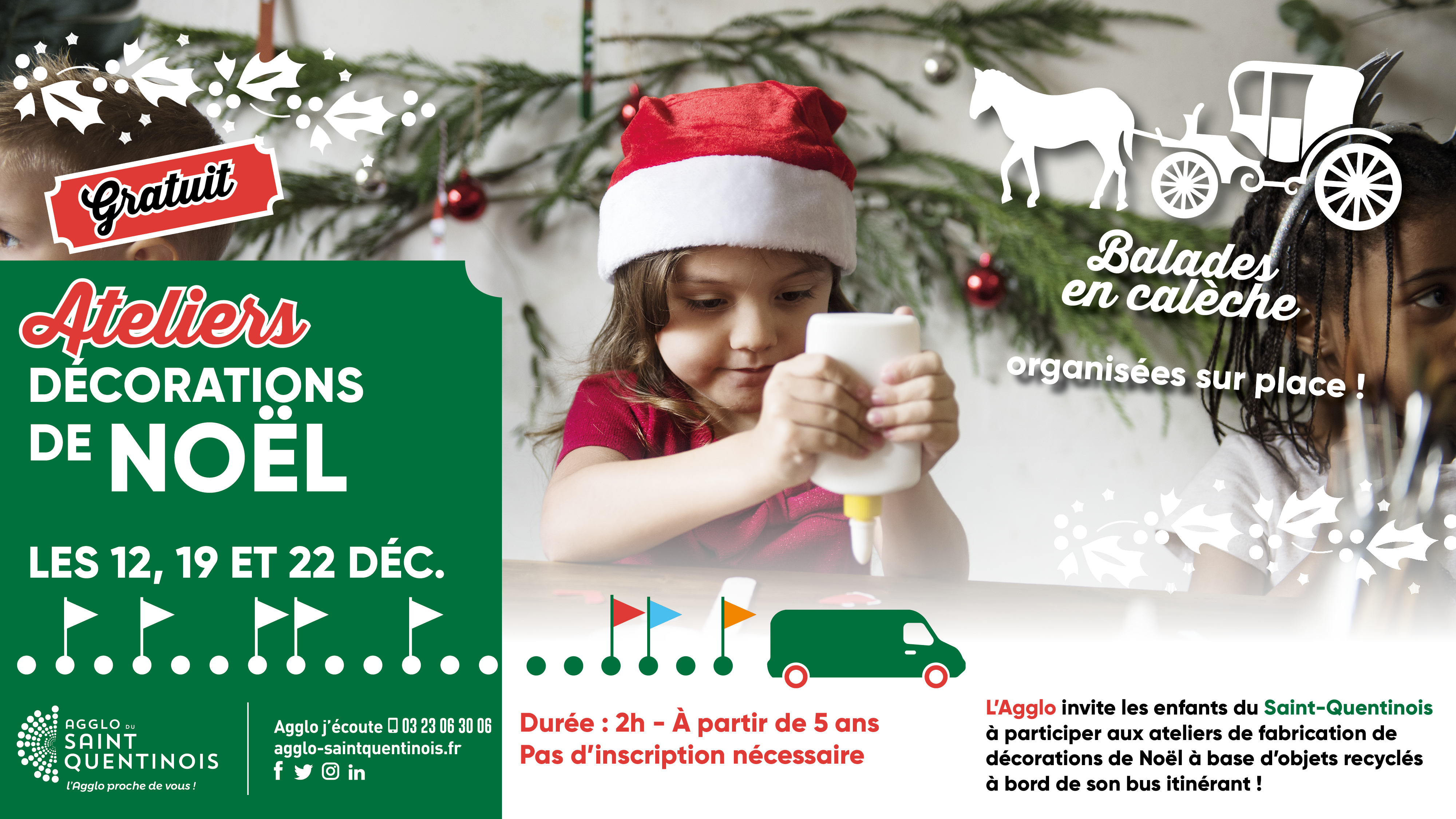 Dès demain participez aux ateliers itinérants de fabrication de décoration de Noël !#atelier #Noël #Décoration #DIY #AggloSaintQuentinois agglo-saintquentinois.fr/agenda-133/ate…