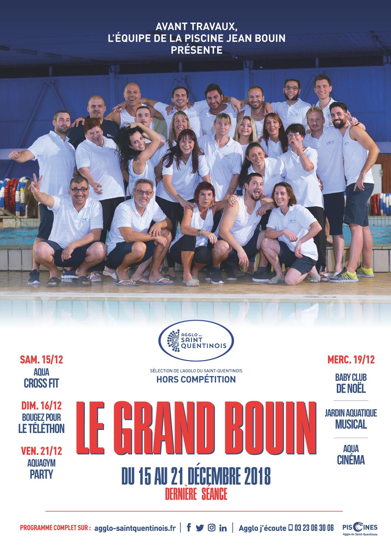 🎬💦Après #legrandbain retrouvez le Grand Bouin à la piscine Jean Bouin ! Avant travaux, l'équipe de la piscine Jean Bouin présente Le Grand Bouin du 15 au 21 décembre 2018 !#Piscine #Travaux #GrandBouin #PiscineJeanBouin #AggloSaintQuentinoisagglo-saintquentinois.fr/agenda-133/le-…