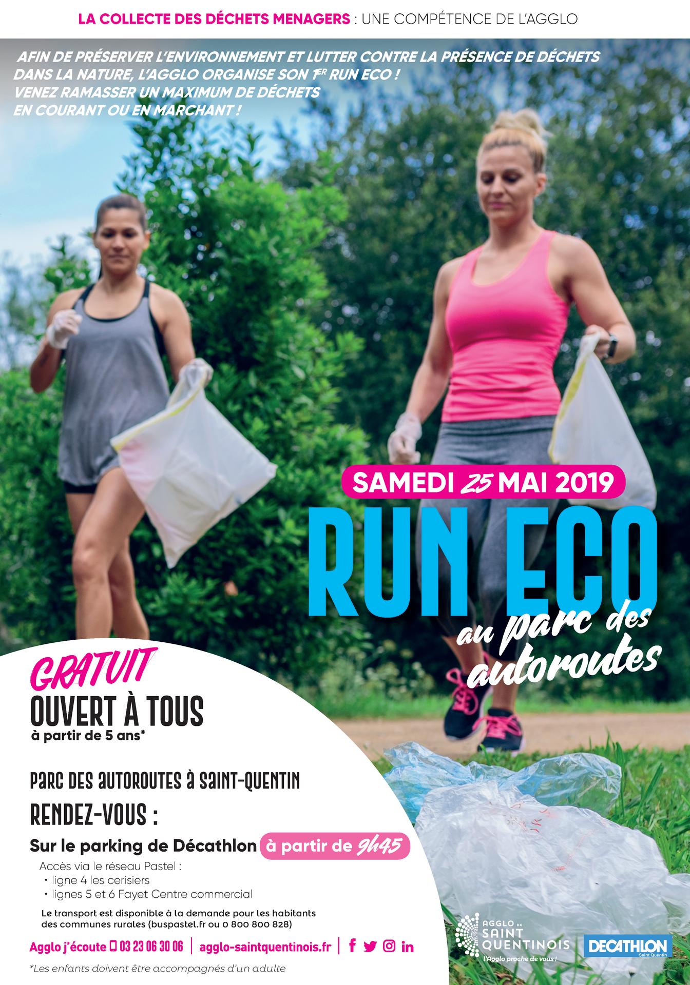 ️Afin de préserver l'environnement et lutter contre la présence de déchets dans la nature, l'Agglo organise son 1er run eco ! Venez ramasser un maximum de déchets en courant ou en marchant ! #RunEco #Plogging #AggloSaintQuentinoisagglo-saintquentinois.fr/agenda-133/run…