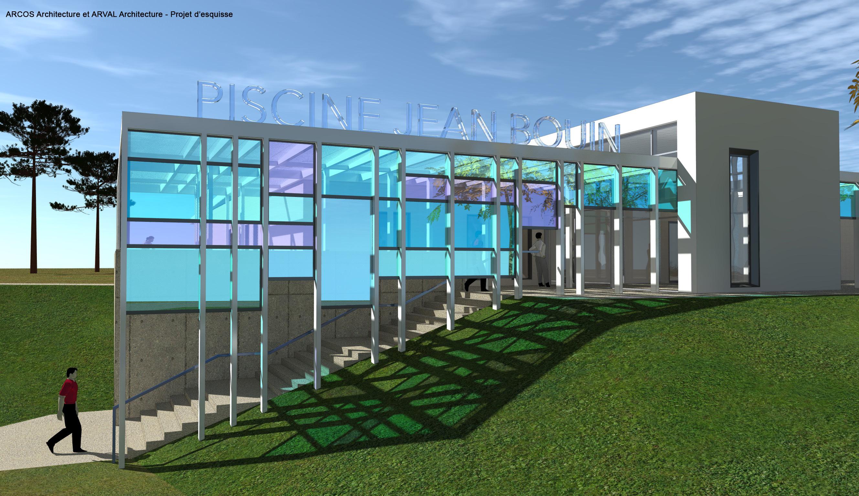 Le Projet De Renovation De La Piscine Jean Bouin Agglomeration Du
