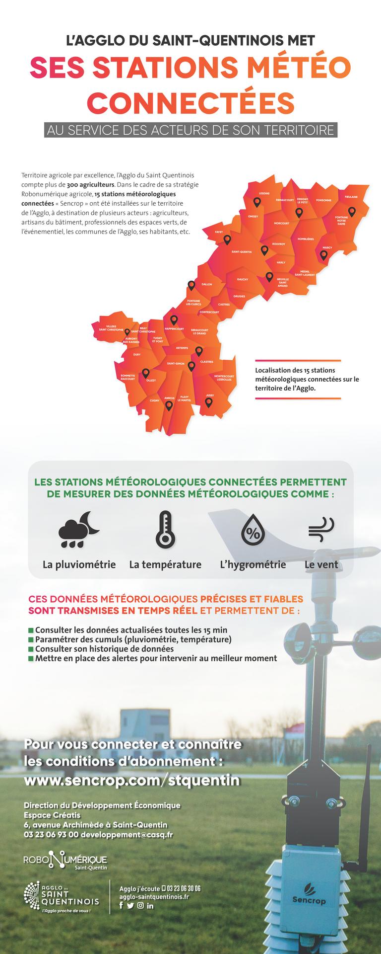 🌬️En plus des stations météo connectées sur le territoire de @AggloStQuentin , la carte interactive permet de connaitre l'indice de la qualité de l'air de @AtmoHdF #Meteo #MeteoConnectee #air #QualiteAir #AggloSaintQuentinois agglo-saintquentinois.fr/engagee/le-ter…
